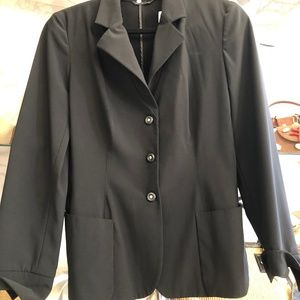 GIORGIO ARMANI Lightweight Black Blazer/Jacket